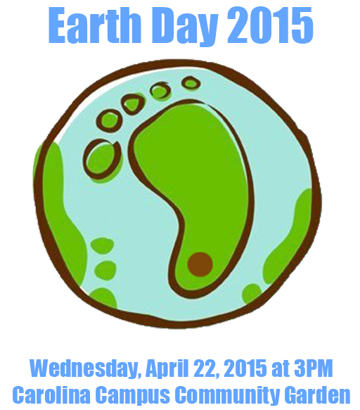 Earth Day in the Community Garden April 22, 2015