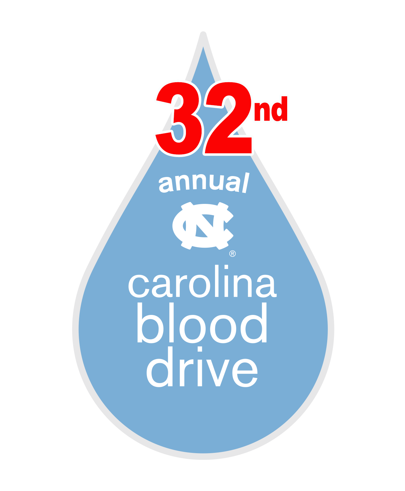 Carolina Blood Drive Blood Drop